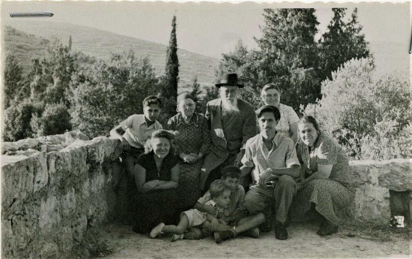 משפחת שטיינברג (ירחמיאל ושיינה)